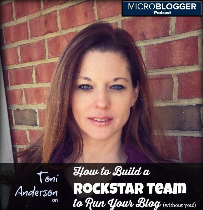 Toni Anderson Microblogger Podcast